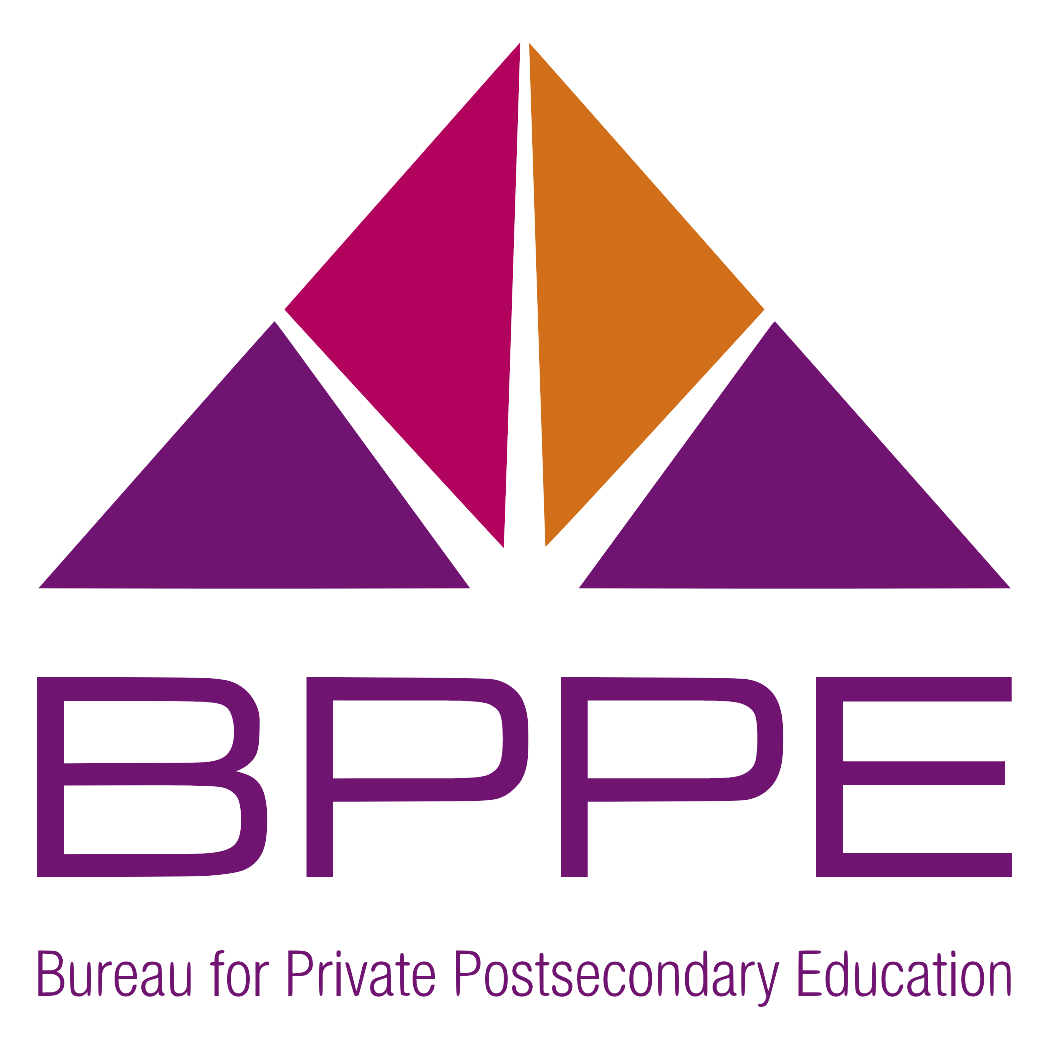 logo for bureau for private postsecondary education