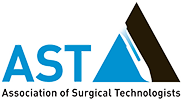 logo for AST association of surgical technologists